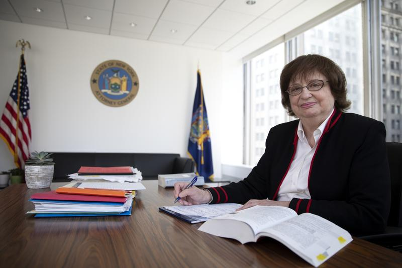 Barbara Underwood is the acting Attorney General. She is not thought to be interested in running for the office in November.