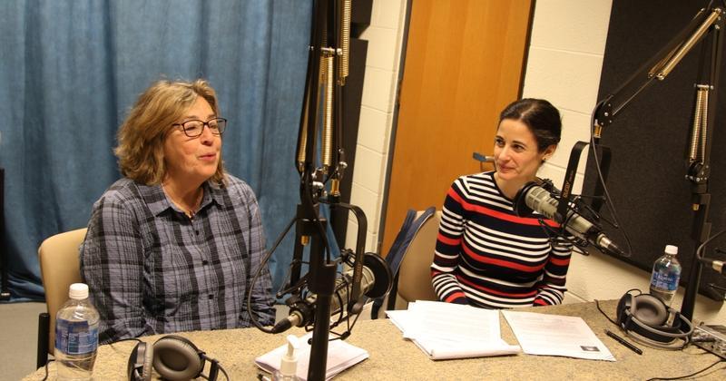 Marsha Weissman, left, and Elizabeth Cohen