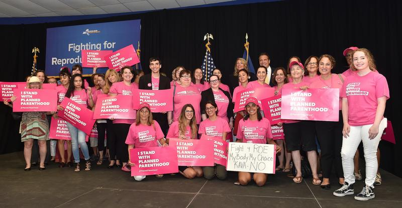 Gov. Cuomo held a rally in Nassau County Tuesday to call on the State Senate to reconvene to pass a measure that would codify abortion rights into NYS law