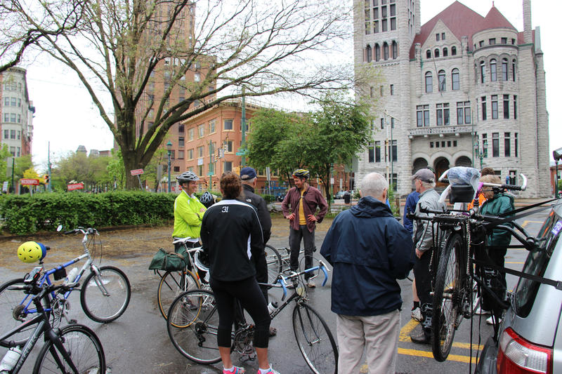 Syracuse Cycle in the City, 2014.