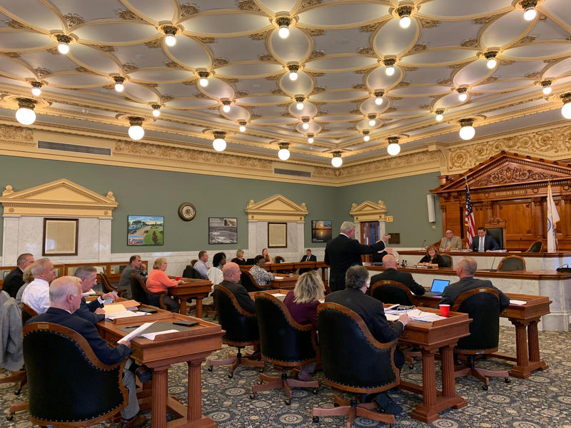 Onondaga County lawmakers at their meeting Tuesday