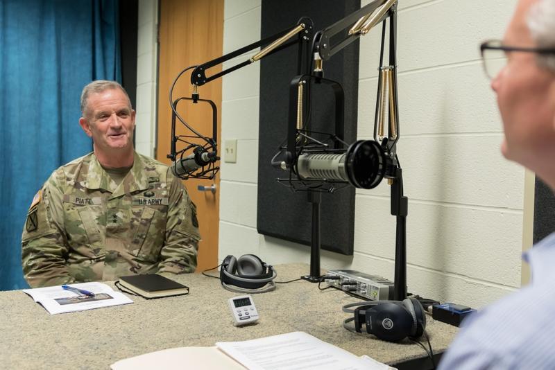 Maj. Gen. Walter Piatt is the commanding general of Fort Drum