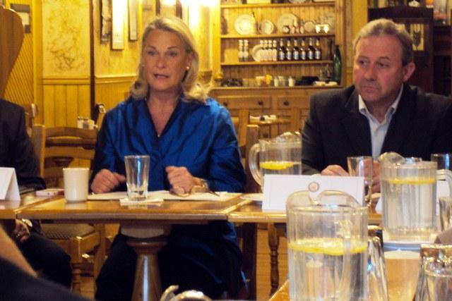 Rep. Ann Marie Buerkle discussed energy costs with Syracuse-area business leaders Tuesday.