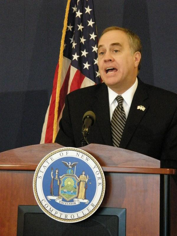 "Comptroller Thomas DiNapoli says ""taxpayers are not getting enough bang for their buck when it comes to IDAs."""