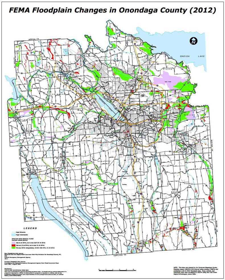 The City Of Syracuse Urges FEMA To Reconsider Flood Maps WRVO - Fema maps