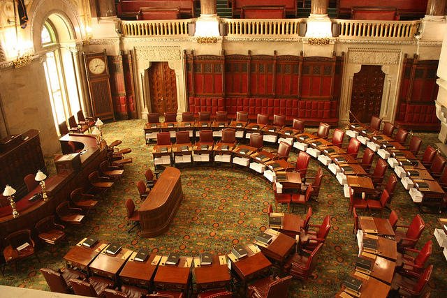 New York State Senate floor