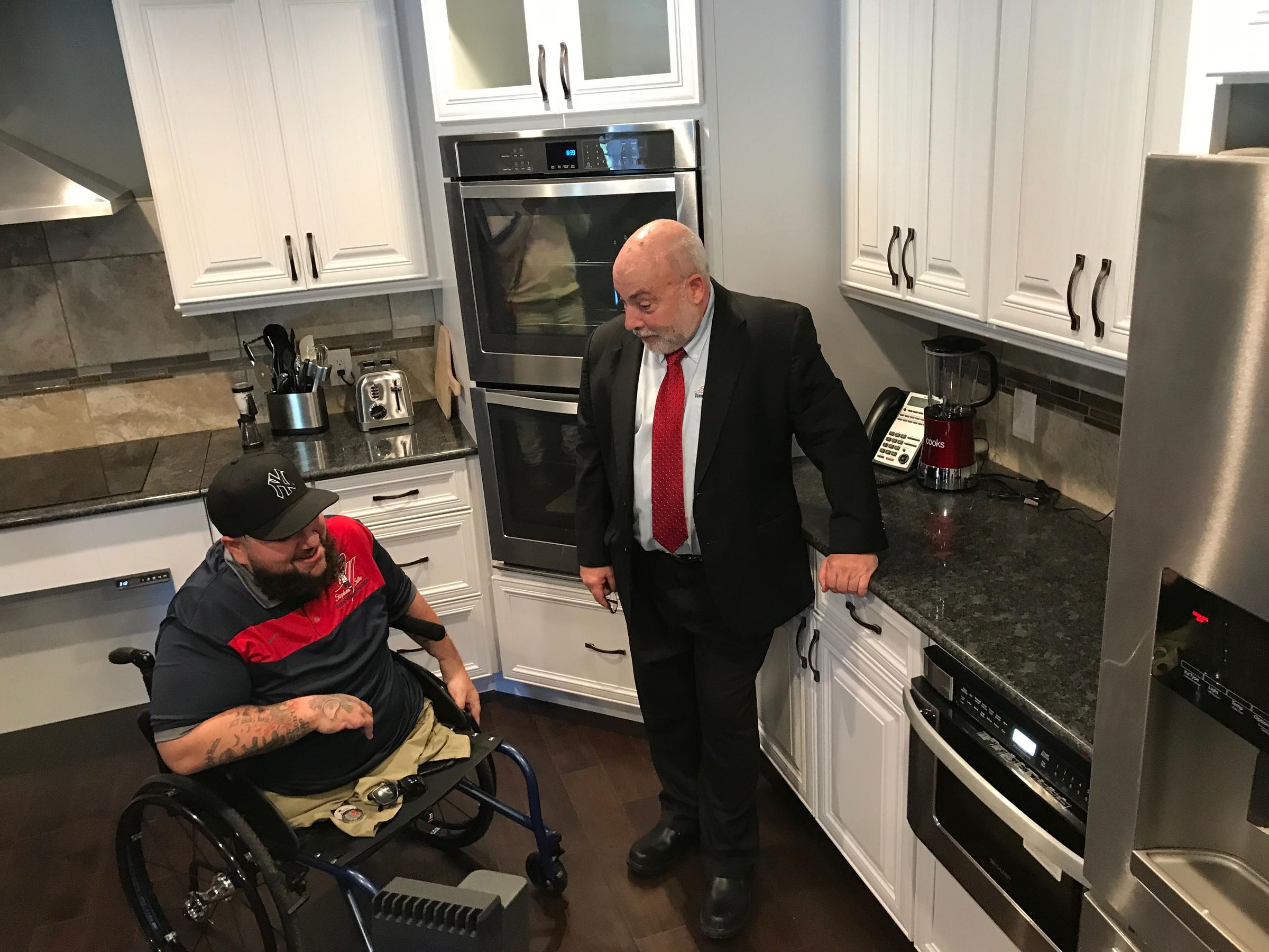 Disabled Central New York Veteran Gets New Home Wrvo