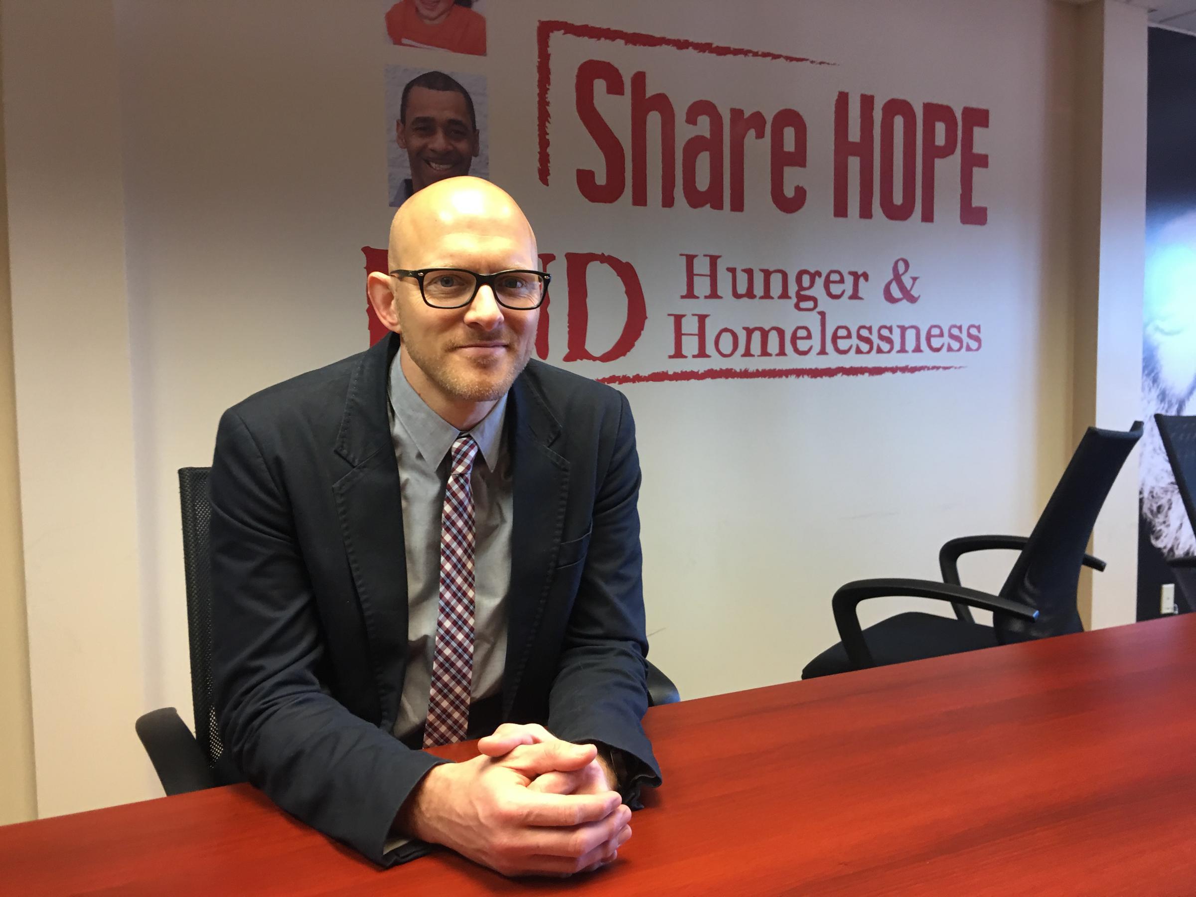 Syracuse Rescue Mission CEO Dan Sieburg