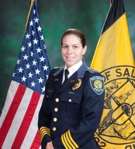 Salisbury Police Chief  Barbara Duncan