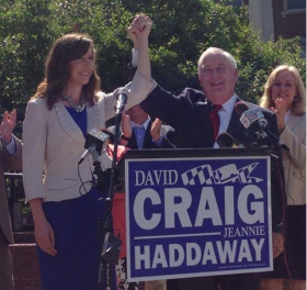 Delegate Jeannie Haddaway-Riccio join GOP Gubernatorial Campaign of David Craig