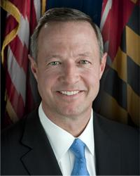 Governor Martin O'Malley (D)