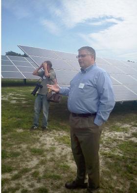 Perdue Solar Panel Farm