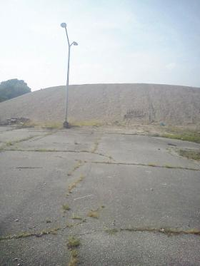 Mound at Old Salisbury Mall
