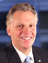 Virginia Governor Elect Terry McAuliffe