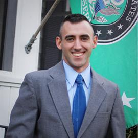 Salisbury City Council President Jake Day