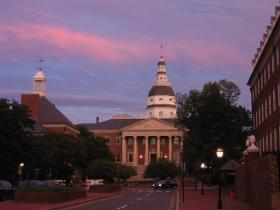State Capital in Annapolis