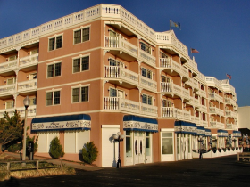Boardwalk Plaza Hotel in Rohobeth