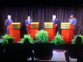 GOP Candidates Debate in Governor's Race Broadcast by WMDT-TV from the Salisbury University campus