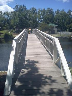 Bridge in Salisbury City Park