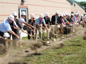 Ground Breaking Ceremony at North Georgetown Elementary School in Indian River School District