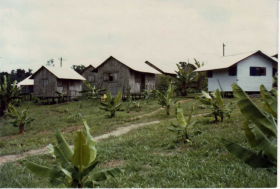 Houses at Jonestown