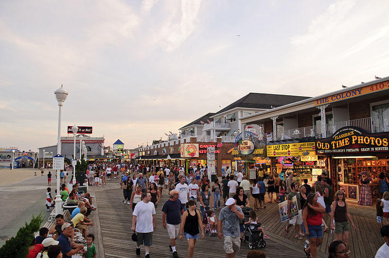 Ocean City MD Boardwalk August 2009