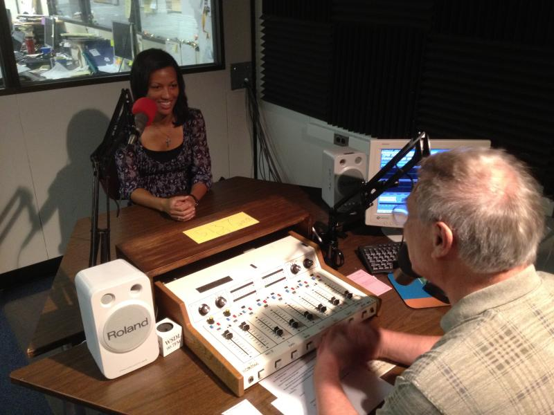 Don Rush interviews Jamyla Krempel on her last day at DPR.