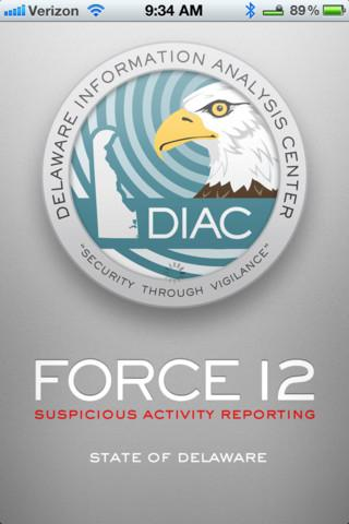 Force 12 App enables Delaware residents to report suspicious activity