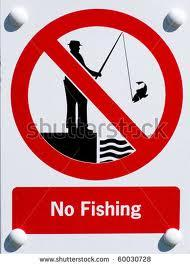 Fishing ban in Carroll Creek