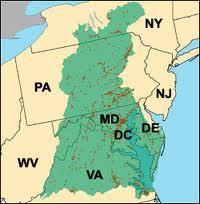 Chesapeake Bay Watershed, epa.gov