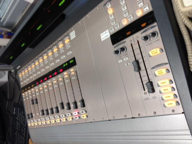 Another view of the console