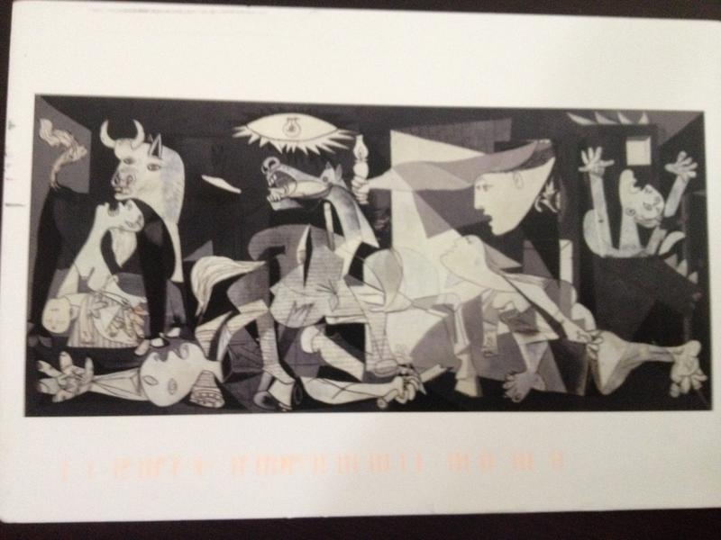 The Show about...Guernica? (that can't be much fun)