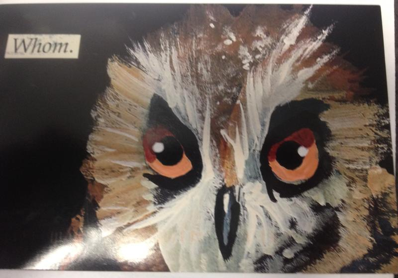 The Grammar Owl is watching you!