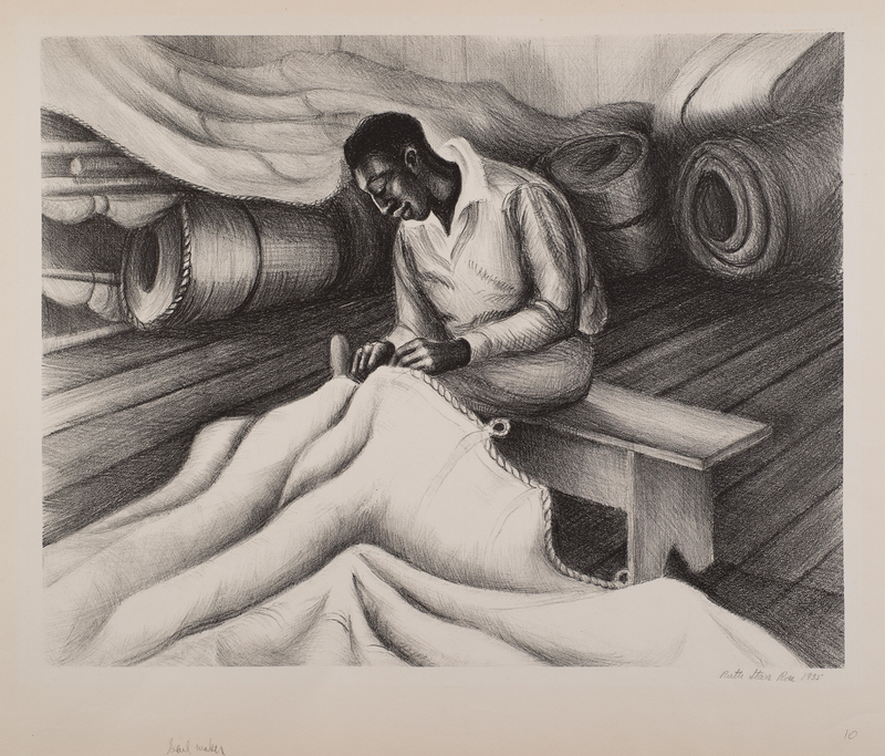 """""""Downes Curtis"""" by Ruth Starr Rose, Albert Curtis a Famous Local Sailmaker"""