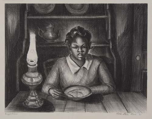 """""""Suppertime"""" by Ruth Starr Rose"""