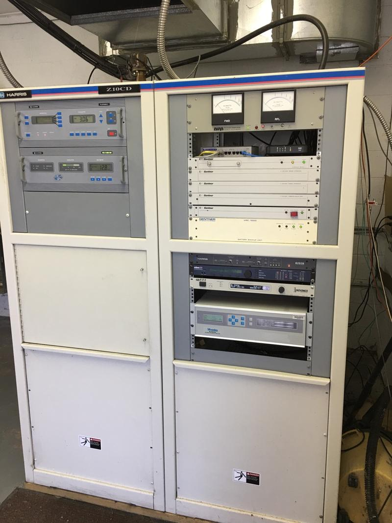 The old WSDL 90.7 transmitter