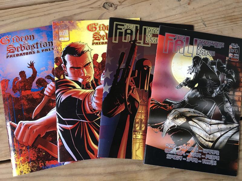 A selection of PLB Comics