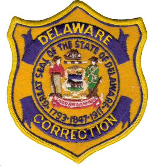 Credit Delaware Correctional Officer Badge