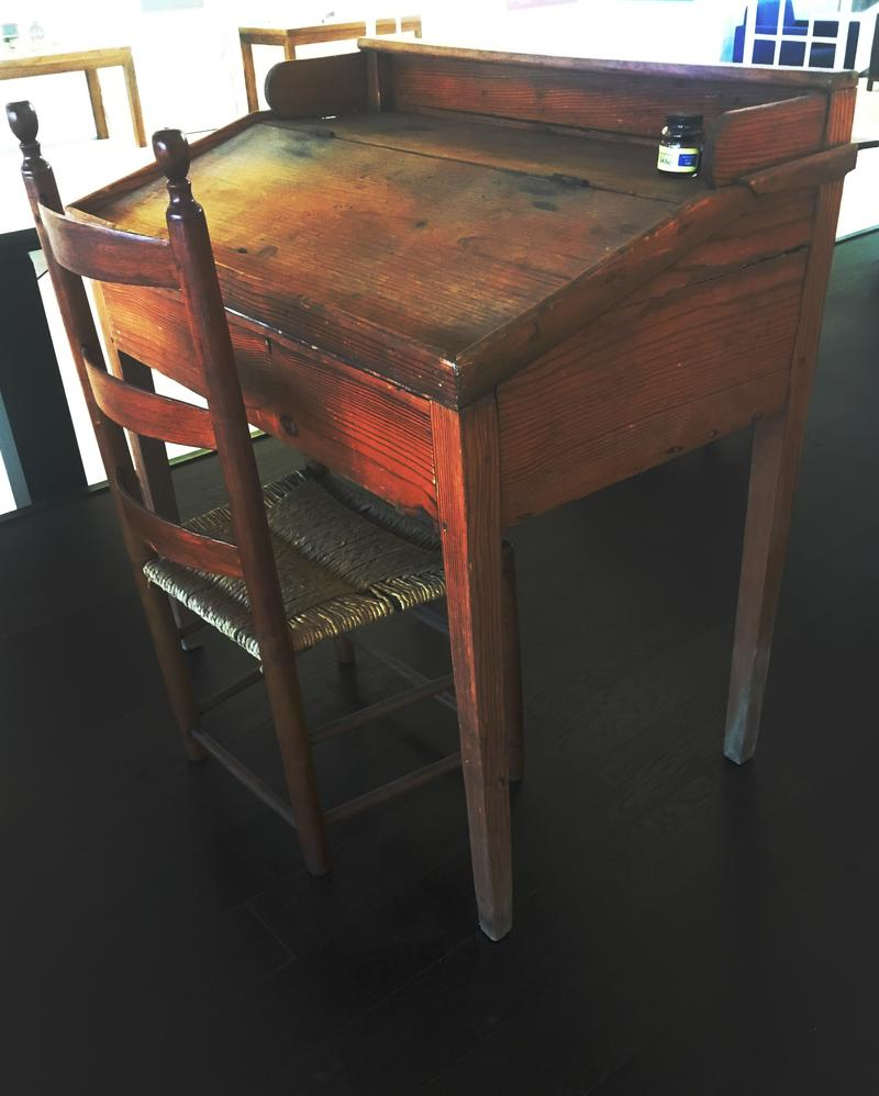 School Desk of the Period