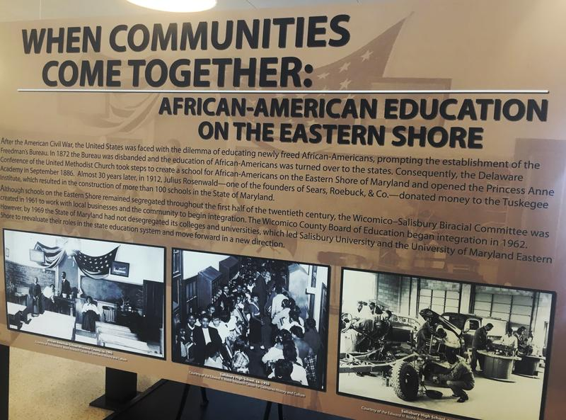 African American School Exhibit