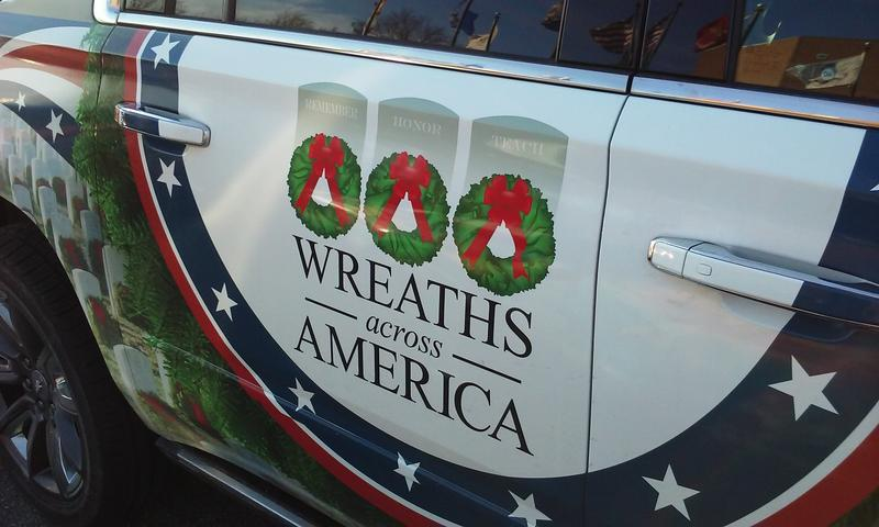 Wreaths Across America Banner