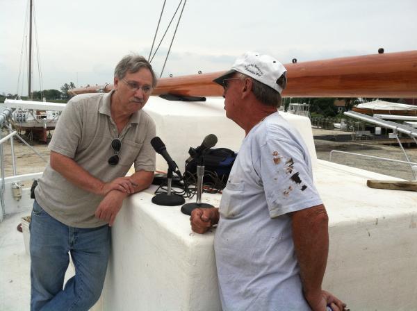 "Don Rush & Captain Harold ""Stoney"" Whitelock"