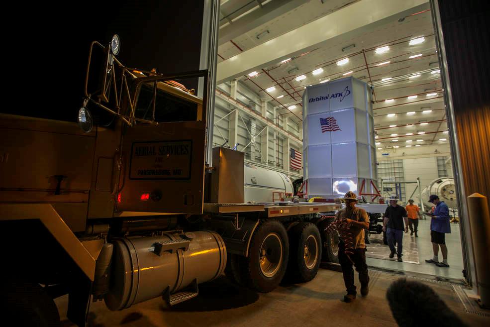 NASA, Orbital ATK Schedule Antares Rocket Launch On Oct. 13