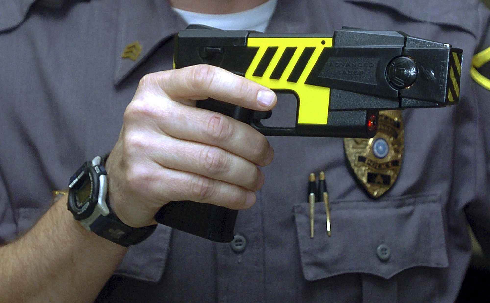 stun guns Stun guns give people a real means of non-lethal self-defense for those who do not want a deadly weapon on them or in their home, stun guns can save lives law enforcement officers carry these, as they can be used safely and effectively.