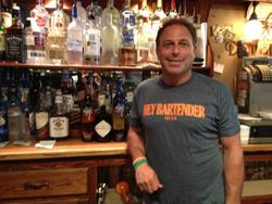 Stephen Carpentieri at Dunville's, his bar and restaurant.