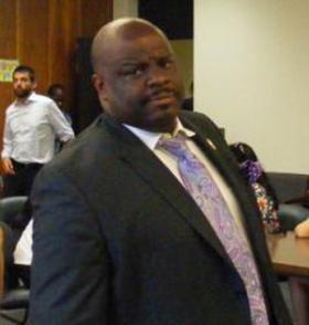 Bridgeport Board of Education Chairman Kenneth Moales