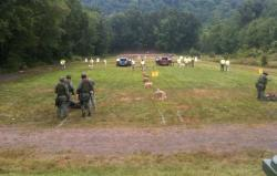 SWAT teams from around the region competed in Simsbury, Conn. on Thursday