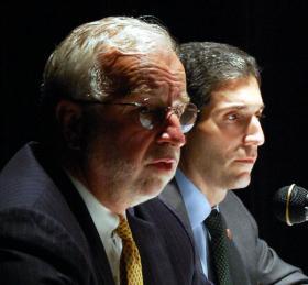 Tim Bishop and Randy Altschuler debate in Riverhead