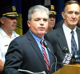 Steve Bellone says 65% of his cost cutting is real reoccurring savings, not one-shot revenues. File photo
