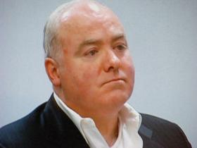 Michael Skakel at his hearing before Superior Court Judge Thomas Bishop on Wednesday Nov. 6